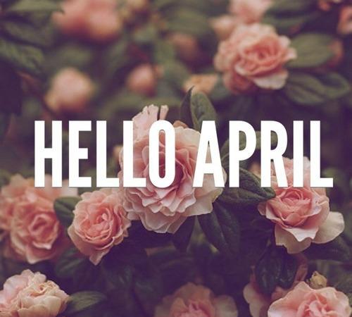 Abril meu aniversário