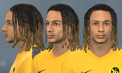 PES 2017 Faces Kevin Mbabu by WER Facemaker