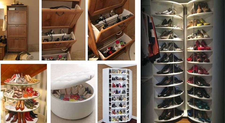 15 Creative Storage And Organize Shoes Cabinets Ideas