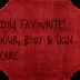 2014 Favourites: Hair, Body & Skin Care !