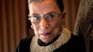 Ginsburg Appears To Wear 'Dissent' Collar On Bench