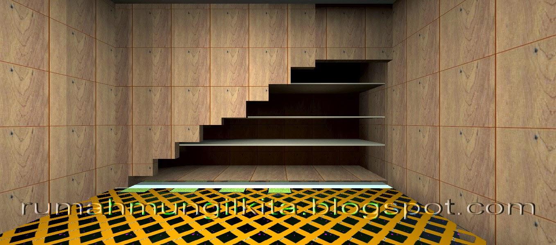 rak untuk gudang di bawah tangga