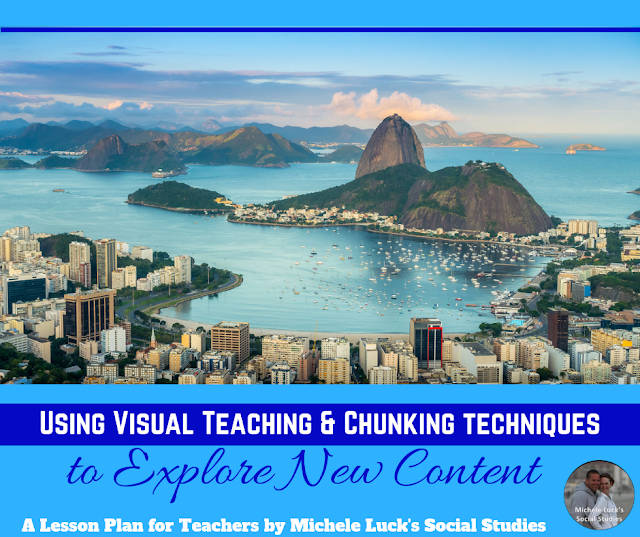 Using Visual Teaching & Chunking Techniques to Explore New Content