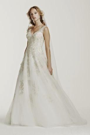e03c3ac425ad Bridal Bargain Hunter: Buy it for a Bargain - Tank Tulle V-Neck Gown ...
