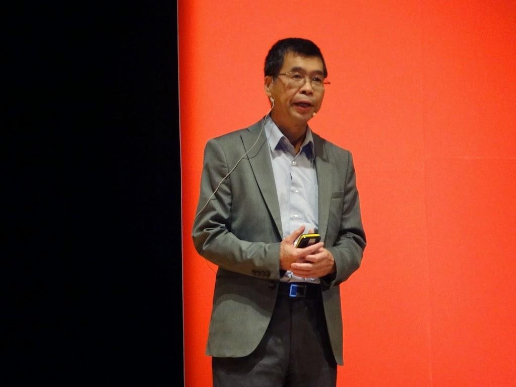 蔡明介談創新:不要怕犯錯,不要設定容易的目標