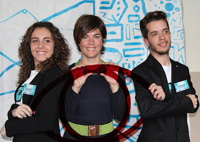 Samanta Villar, Ana Lopez i David Benito (ponències)