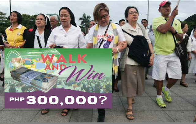 EXPOSED: P350K raffle prize given during 'Walk For Life' event?