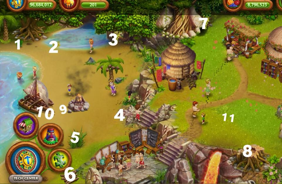 Virtual Villagers Origins 2 Finding Crafting Resources