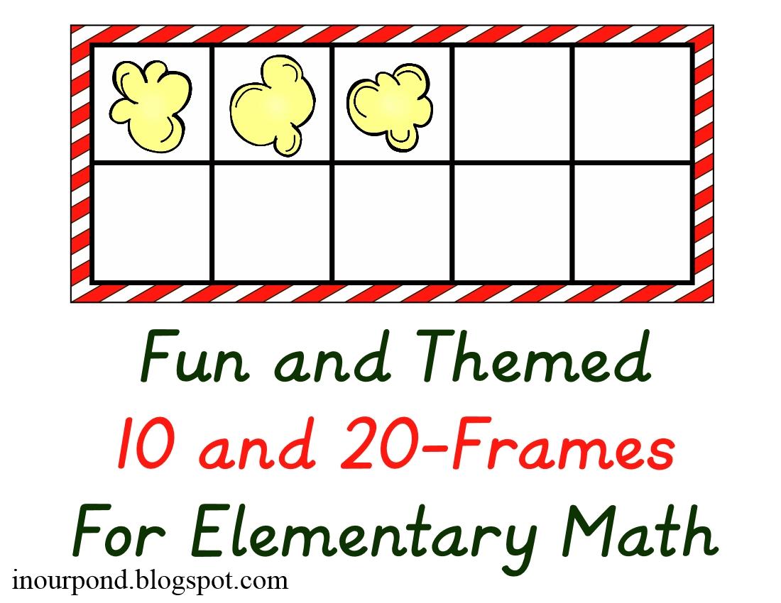 Fun Themed 20 Frames Math