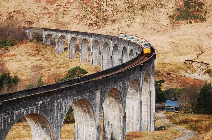 Glenfinnan Viaduct has been used as a location in several films and television series, including Ring of Bright Water, Charlotte Gray, Monarch of the Glen, Stone of Destiny, and three films of the Harry Potter film series.