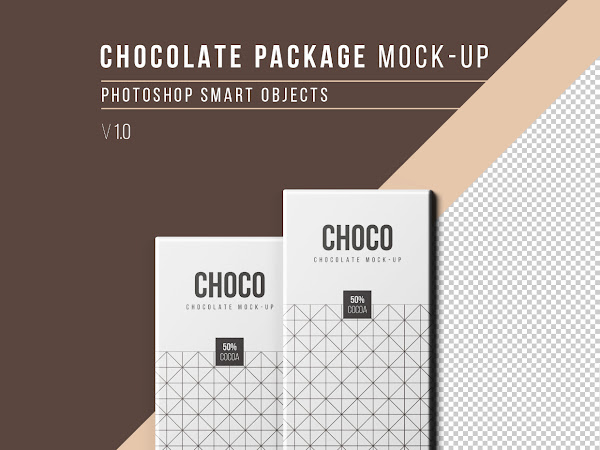 Download Chocolate Package Mockup Free
