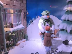 Fenwick Window Newcastle 2018 The Snowman