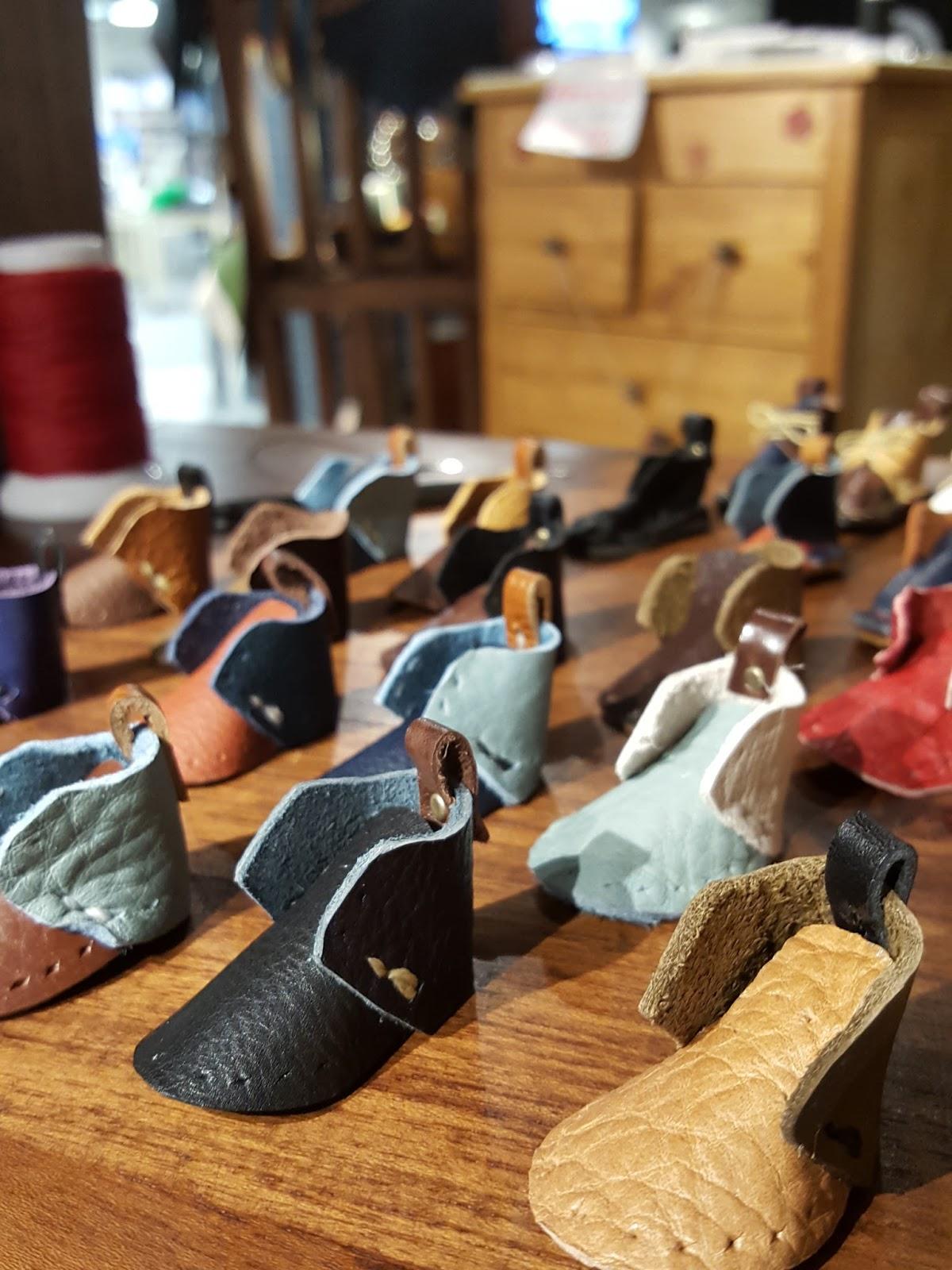 そして今回はものづくりマーケットのためにミニ靴をたくさん作りました!