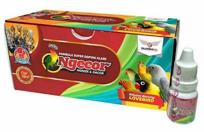 Cara Pemakaian Dan Manfaat Vitamin Ngecor Untuk Burung Lovebird Paling Lengkap