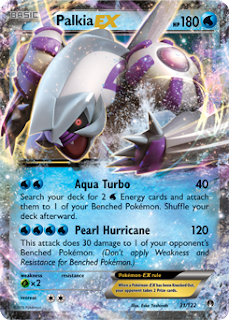 Palkia BREAKpoint Pokemon Card
