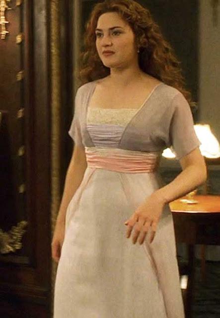 Cena de Titanic com Kate Winslet