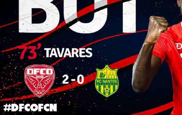 Hasil Dijon FCO vs Nantes Skor Akhir 2-0 [ Ligue 1 1 2018 ]