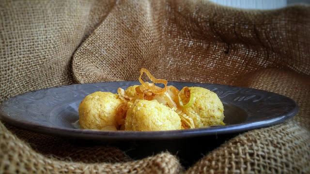 gnocchi di polenta con crema al gorgonzola