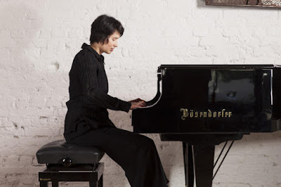 Kimiko Ishizaka playing a Bösendorfer Photo credit: Intuitive Fotografie - Philippe Ramakers