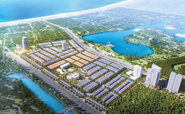 Phối cảnh tổng thể dự án LakeSide Palace Đà Nẵng