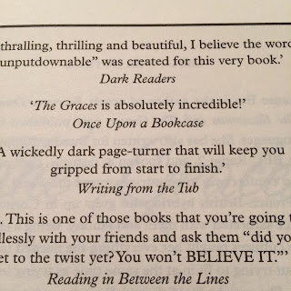 Quote in the New Edition of The Graces by Laure Eve