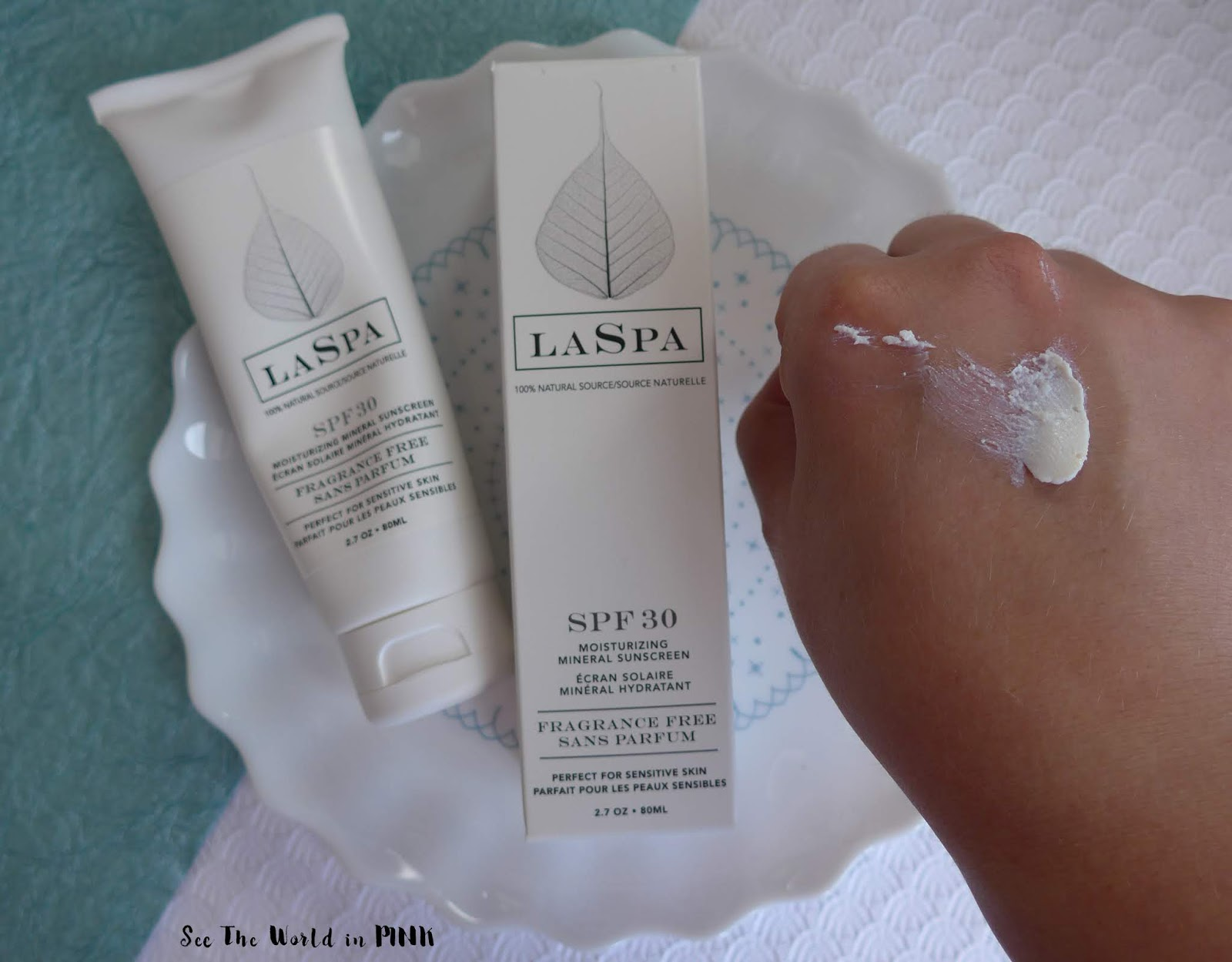 Skincare Sunday - National Sunscreen Day with LaSpa Natural Suncare Products!