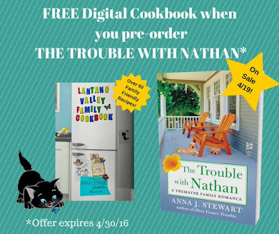 FREE Digital Cookbook when you purchase The Trouble with Nathan