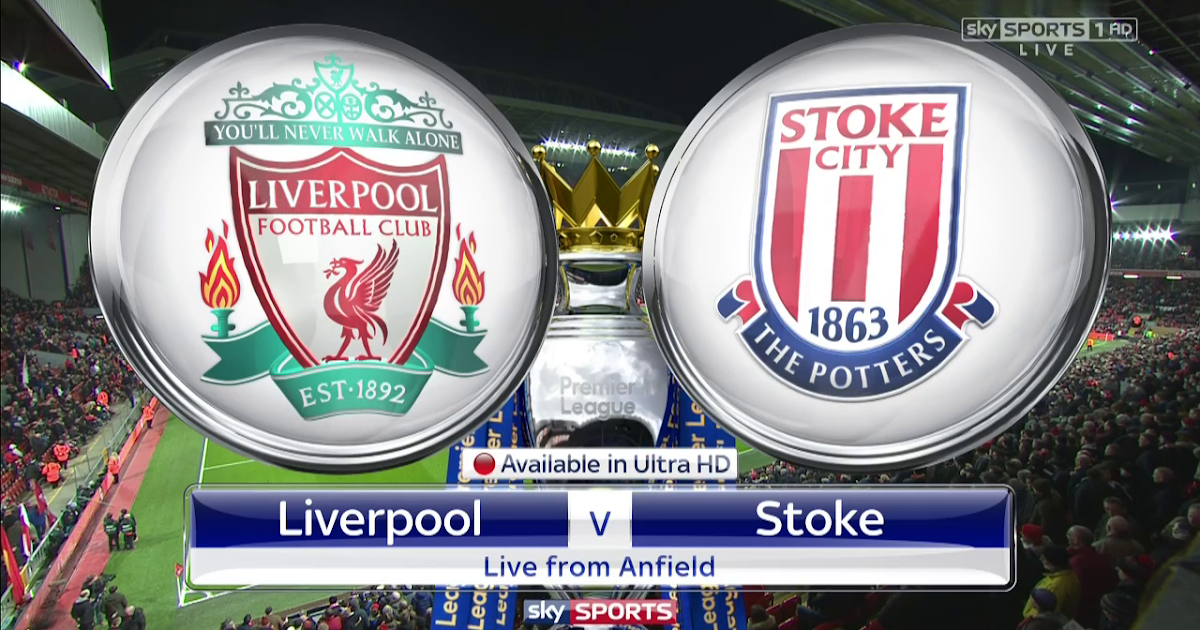 Match of the Day TV: Liverpool vs Stoke City - Premier ...