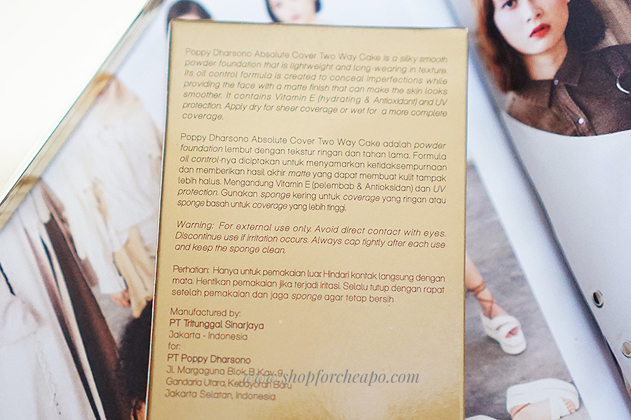 poppy dharsono cosmetics review