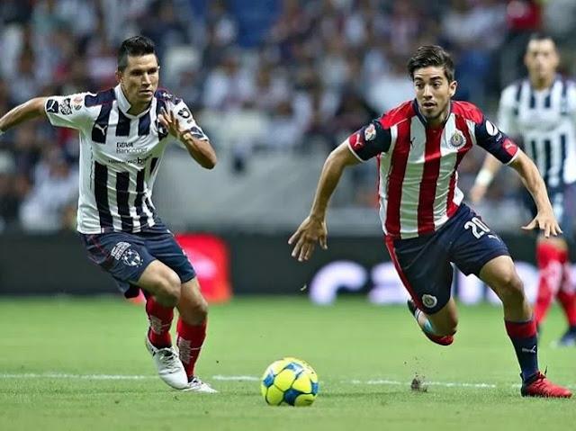 Ver partido Monterrey vs Chivas en vivo