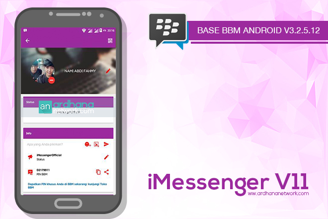 iMessenger V11 - BBM MOD V3.2.5.12