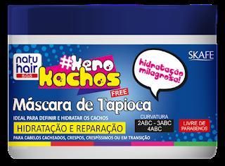 Skafe Cosméticos apresenta sua mais nova 'Máscara de Tapioca' da Kero Kachos