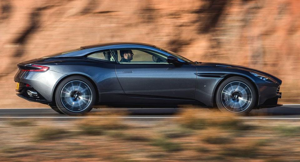 Aston Martin Details The DB11 Motorsport-Inspired 'Aeroblade'