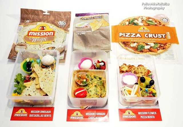 3 Mission Foods Bento Boxes