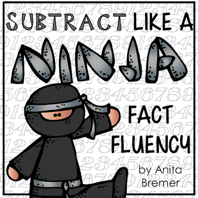 Improve addition and subtraction math fact fluency! Each time a booklet is mastered (finished within the time frame and error-free) they will move on to the next level. The levels are created in a fun ninja-themed format, to help foster motivation! #math #addition #subtraction #mathfacts #fluency #1stgrade #2ndgrade