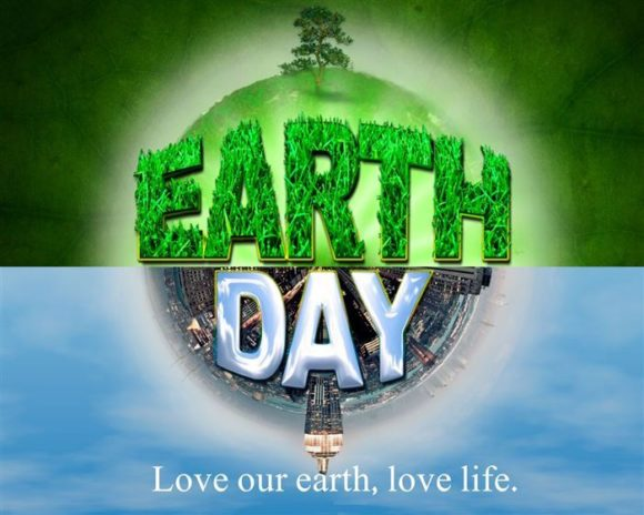 Earth Day poster 2018 for teachers and students