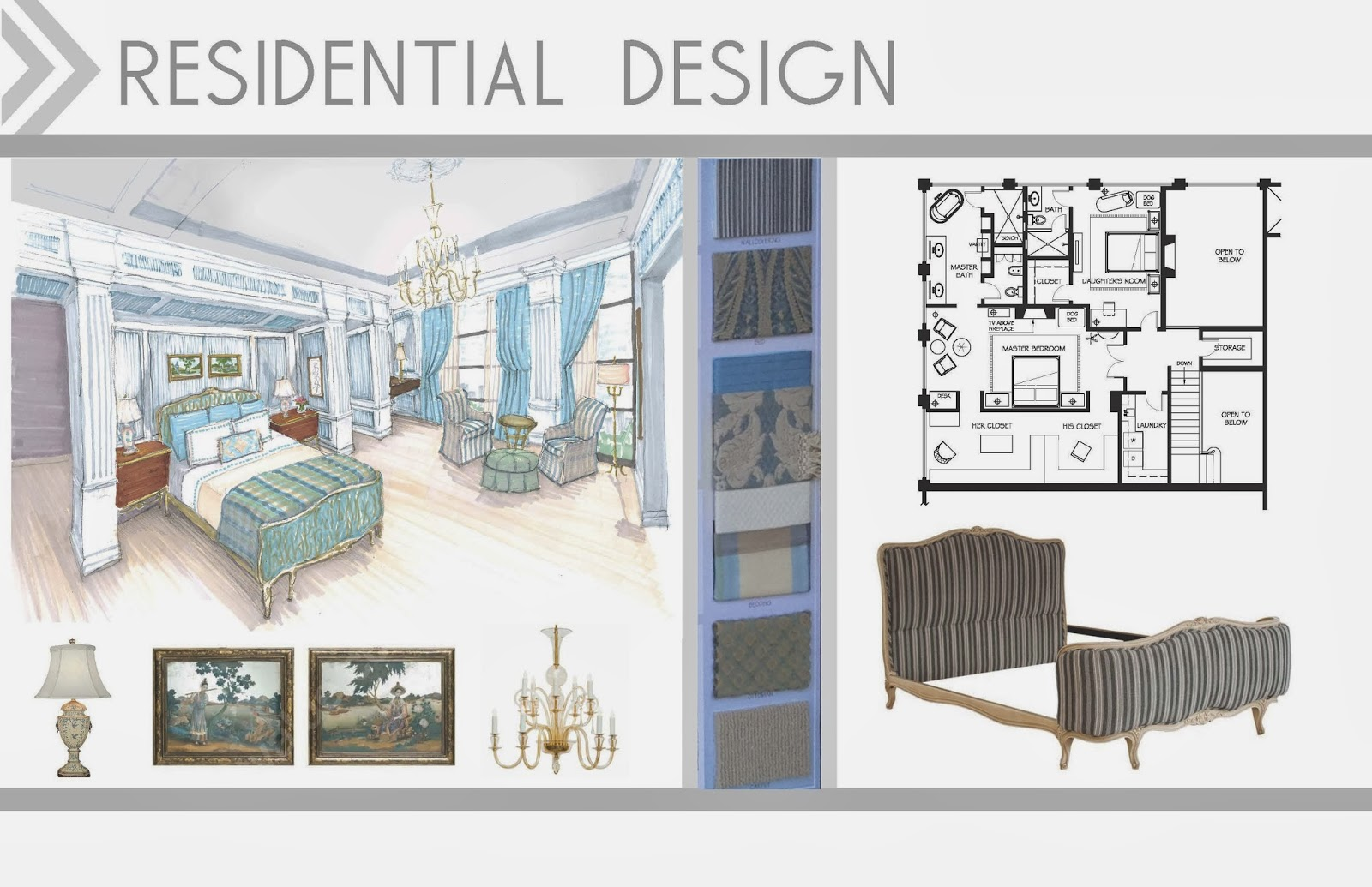 Turned to design taking the plunge ever evolving - Interior design portfolio samples ...