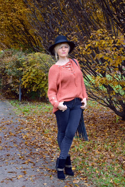 outfit maglione collo lace-up come abbinare un maglione collo lace-up outfit novembre 2016 outfit invernali mariafelicia magno fashion blogger colorblock by felym fashion blog italiani fashion blogger italiane blogger italiane di moda web influencer italiane