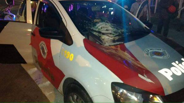 Síria e Iraque ? Não, é tiroteio entre bandidos e a PM no Morumbi, Zona Sul de SP