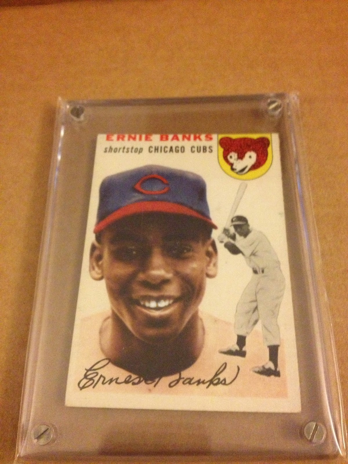 The Birth Of A New Small Project Ernie Banks Cheap Wax