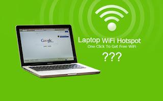 Cara Membuat Laptop Sebagai Hotspot Wifi Tanpa Aplikasi dan Dengan Aplikasi