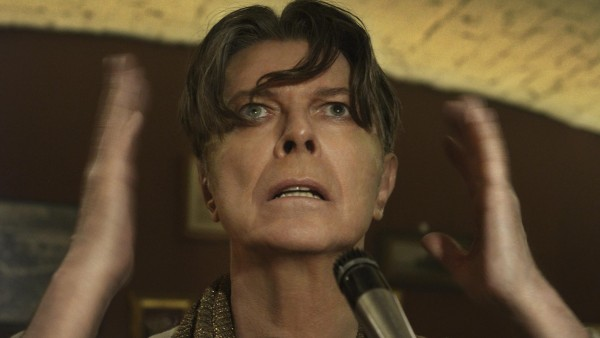 El cantante David Bowie durante el videoclip de 'The Next Day'