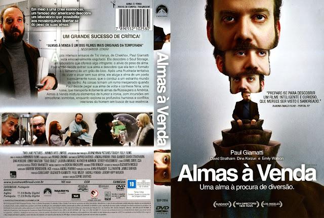 Capa DVD Almas à Venda