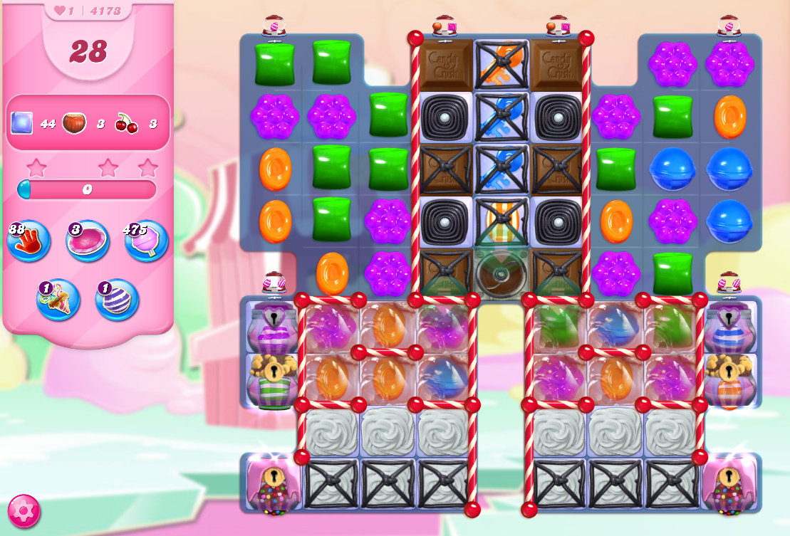 Candy Crush Saga level 4173
