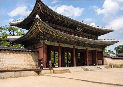 ประตูดอนฮวามุน (Donhwanmun Gate) / พระราชวังชางด๊อก (Changdeokgung Palace)