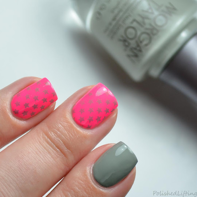bright star nail art