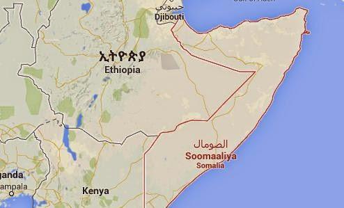 Peta Negara Somalia