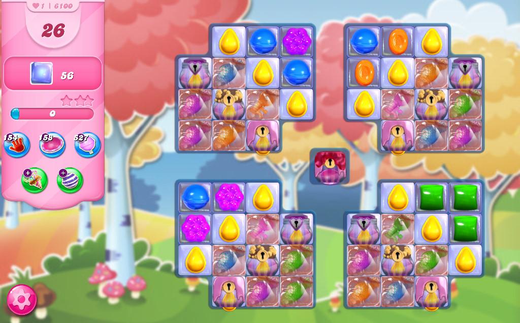 Candy Crush Saga level 6100