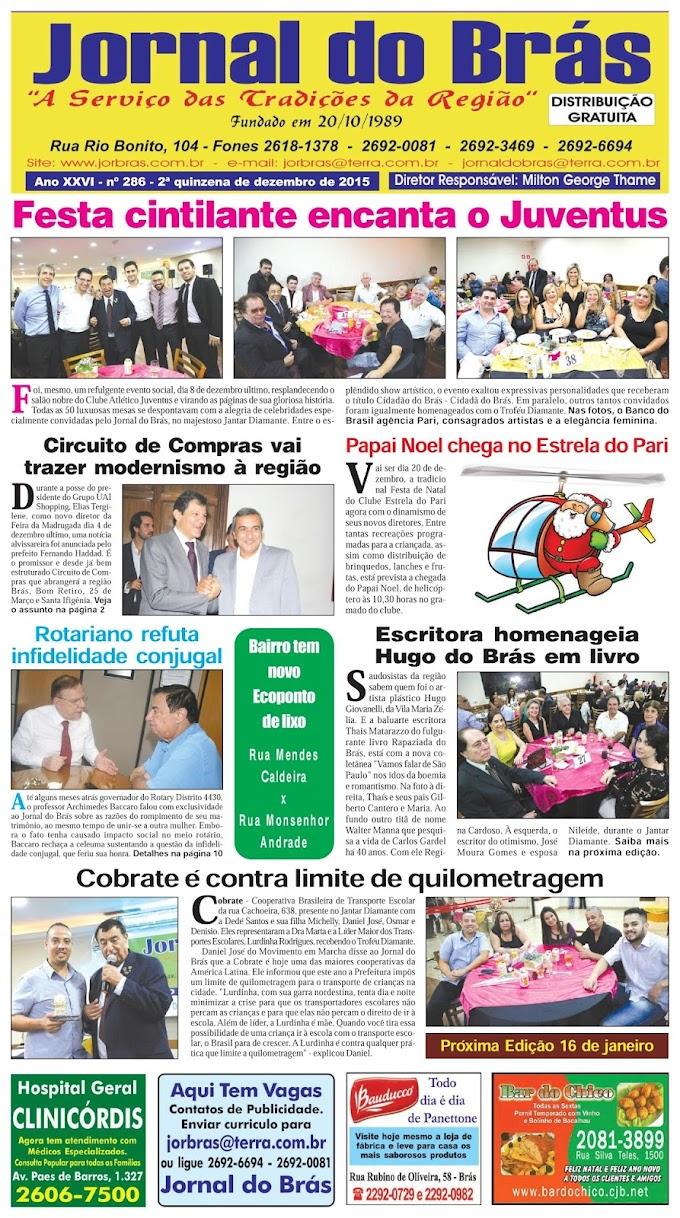 Destaques da Ed. 286 - Jornal do Brás
