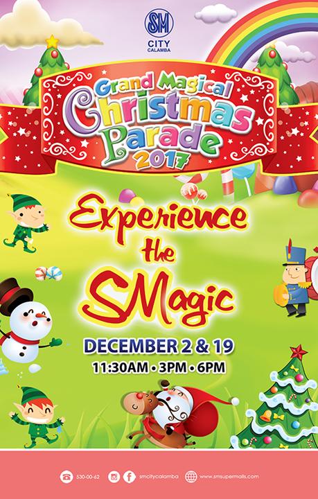 Grand Magical Christmas Parade - December 2 and 19 || SM